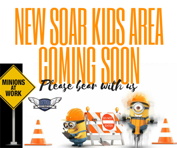 New soar kids area Coming Soon